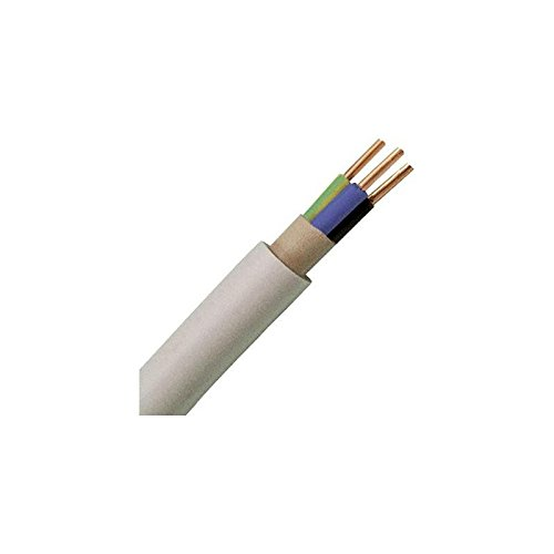 Kopp 153125003 Mantelkabel, Nym-J, 3 x 2,5 mm², 25 M, Grijs
