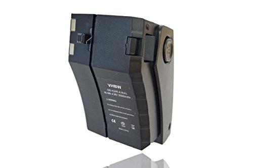 vhbw Ni-MH Akku 2000mAh (4.8V) für Staubsauger Reinigung Roboter Kärcher 1.258-505.0, 12585050, 1258-5050, KC55 wie 28100010, 6.654-118.0.