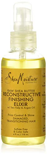 Shea Moisture Huile Elixir Réparatrice Raw Shea Butter 118 ml