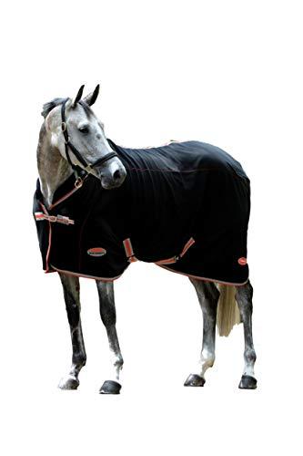 Weatherbeeta Therapy Tec Standard Neck Blanket, Black/Silver/Red, 78