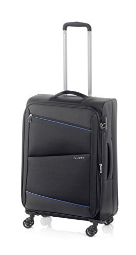 Gladiator Bel-air Suitcase, 68 cm, 63 Liters, Black