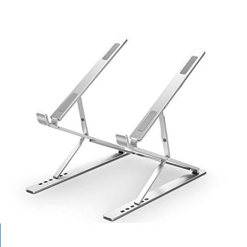 Soporte para Portatil Soporte de la PC PC portátil de refrigeración de Sobremesa de 9 capas de elevación ajustable placa de aluminio ventilada escritorio Elevación del estante Soporte Portátil