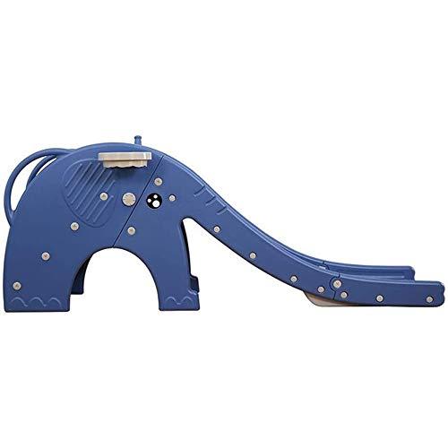 JW-YZWJ Diapositiva para niños, Escalador Plegable Play Play Plaza de Escalada para Exteriores/de Interior/de jardín Play Toy Playground,Azul