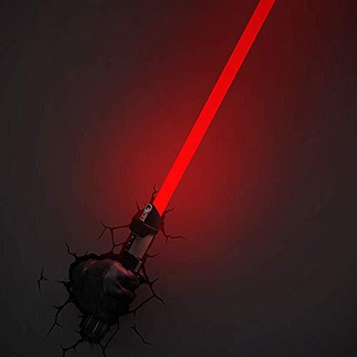 Action Figure 3D-Sprung Star Wars Wandleuchte Kreative Darth Vader Licht-Nachtlicht Schwert Wandlampe Nachtlicht-Dekoration-Geschenk - Weihnachten A-980 * 135 * 90MM