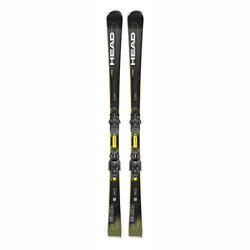 HEAD – Ski-Set Supershape E-Speed SW SF-pr + Bindung Prw11 Gw Herren – Größe 170 – Schwarz