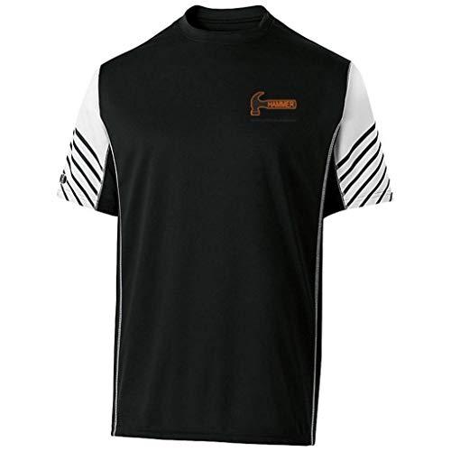 Hammer Bowling Products Hammer Arc Kurzarm-Shirt, Schwarz, Größe XXXL
