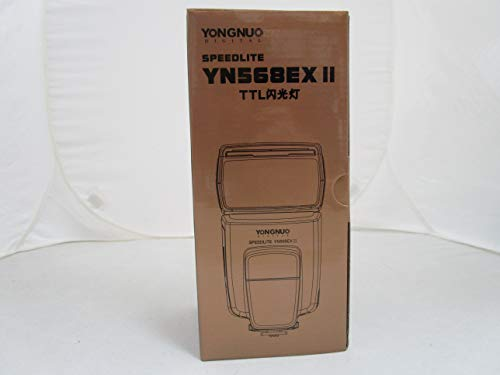 Yongnuo YN568EX II - Flash alta velocità, controllo Master GN ultra potente, Speedlite off-camera, per fotocamere Canon Serie 7D 60D 50D 40D 30D 20D 5DIII 5DII 5D 1Dx 1Ds 1D