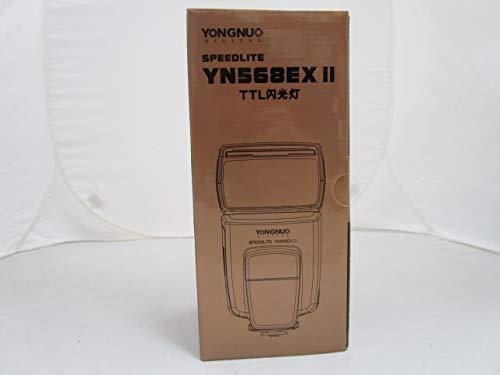 Yongnuo OS02362 E-TTL YN-568EX II Blitzgerät mit Masterblitzfunktion für Canon EOS