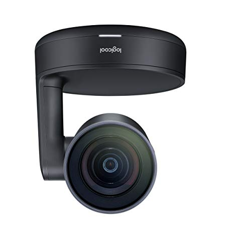 Logitech Rally Sistema de Video Conferencia Group Video conferencing System 10 Personas(s) Ethernet - Sistema de videoconferencia (4K Ultra HD, 15x, 720p,1080p,1440p, 60 pps, 4,5 m, -27 dB)