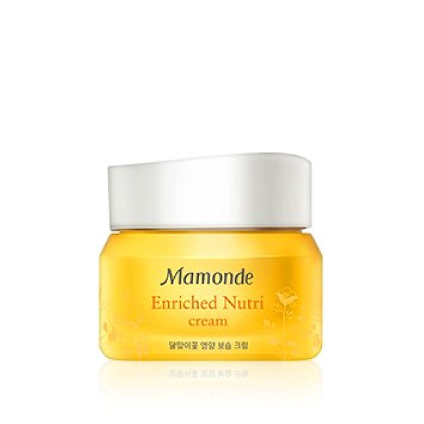 衣類安定船上[New] Mamonde Enriched Nutri Cream 50ml/マモンド エンリッチド ニュートリ クリーム 50ml