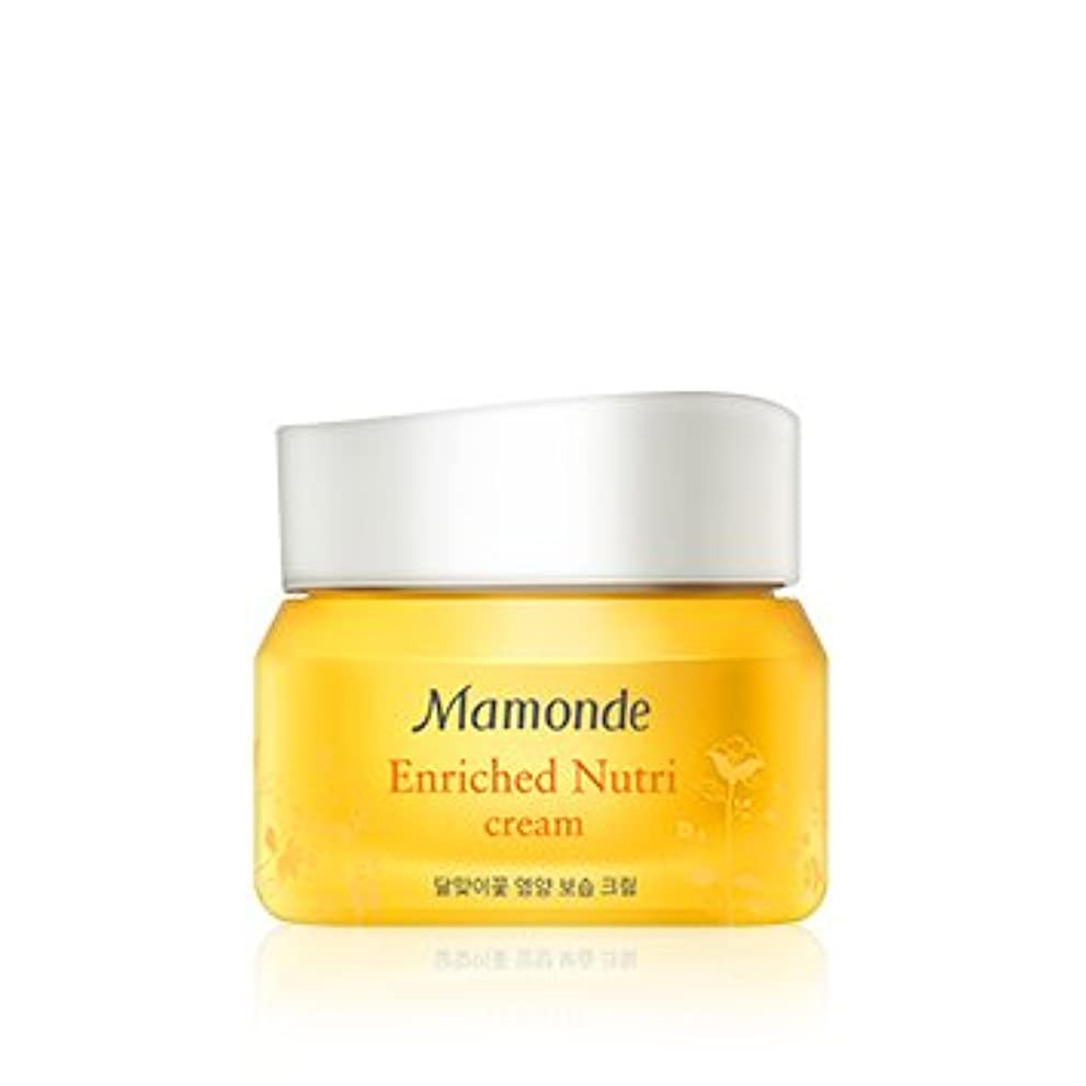 大型トラックゴールドモネ[New] Mamonde Enriched Nutri Cream 50ml/マモンド エンリッチド ニュートリ クリーム 50ml [並行輸入品]