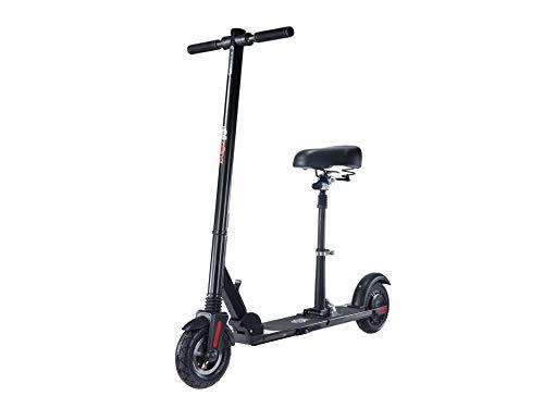 schnaeppchenmeile-online Rollzone ES02 - Patinete eléctrico con asiento (250 W), color negro