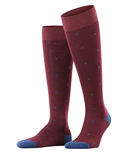 FALKE Herren Dot M KH Socken, Blickdicht, Rot (Barolo 8596), 43-46 (UK 8.5-11 Ι US 9.5-12)