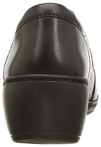 Clarks Women's Channing Fiona Loafer, Black Leather, 65 W US Florida