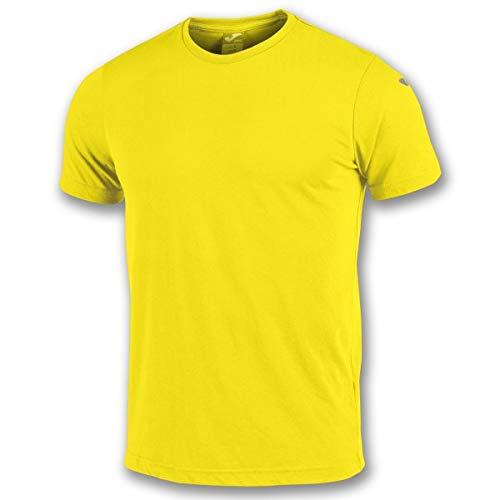 Joma Nimes Camisetas Equip. M/c, Hombre, Amarillo, L