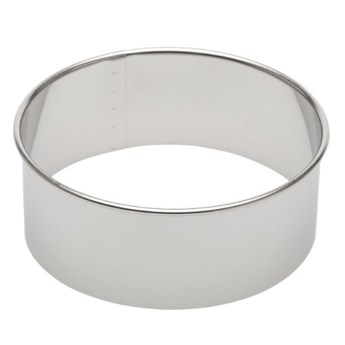 "Ateco 4.5-Inch Round Stainless Steel Cutter, 4.5"" Round Cutter"