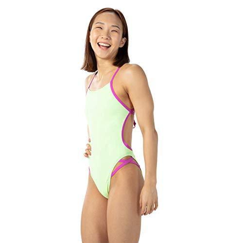 Speedo Neon Freestyler 1pce TF G Traje De Baño Mujer,