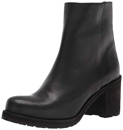 Frye Women's Karen Inside Zip Short Ankle Boot, Black, 8