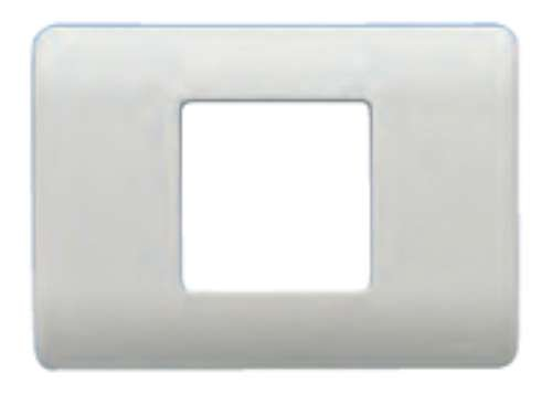 Bjc rehabitat - Placa con bastidor 1 ancha/2 estrecho blanco