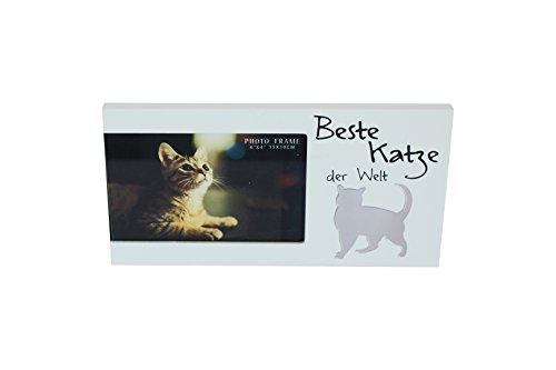 Bilderrahmen für ein Foto mit Spruch - Beste Katze der Welt