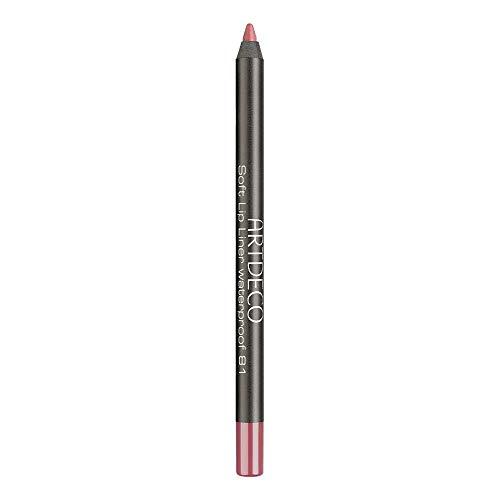 ARTDECO Soft Lipliner Waterproof - Wasserfester, langanhaltender Lippenkonturenstift, rosa, pink - 1 x 1,2 g