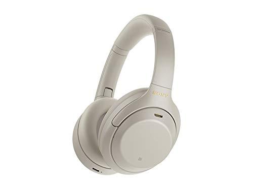 ソニー ワイヤレスノイズキャンセリングヘッドホン WH-1000XM4 : LDAC/Amazon Alexa搭載/Bluetooth/ハイレゾ 最大30時間連続再生 密閉型 マイク付 2020年モデル 360 Reality Audio認定モデル シルバー WH-1000XM4 SM
