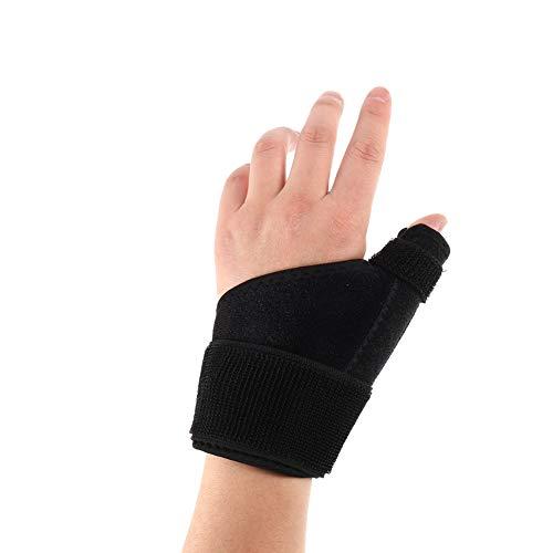 Xinzistar - Vendaje para pulgar derecho izquierdo Trigger Thumb Spica Support Brace ajustable alivio del dolor para artritis Tendonitis Universal Wrist Stabilizer Guard