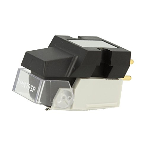 Audio-Technica VM670SP Dual Moving Magnet Stereo Turntable Cartridge for 78 RPM Records, White
