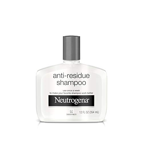 Neutrogena Anti-Residue Clarifying Shampoo, Gentle Non-Irritating Clarifying Shampoo to Remove Hair Build-Up & Residue, 12 fl. oz