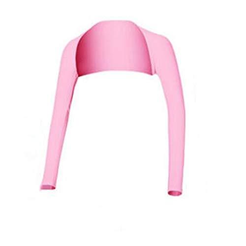 ACHICOO - Bufanda de Verano para Mujer, para equitación, Driving, Golf, Color Rosa, tamaño Medium
