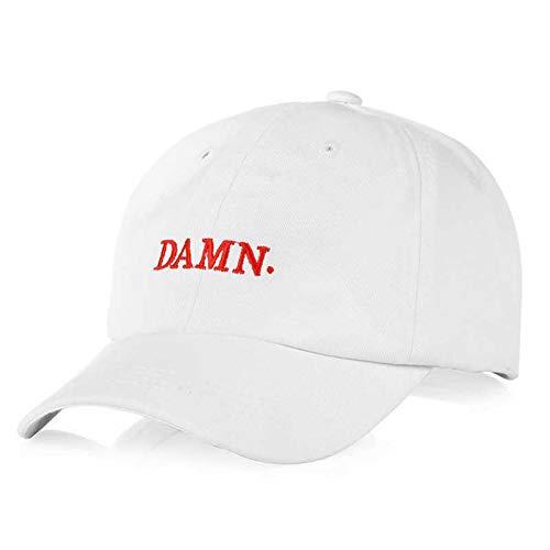 CKUZI Damn Letter Stickerei Baseball Cap Paar Snapback Caps Hip-Hop Hut OutdoorSonnenhüte