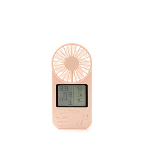 NINGXUE-MAOY Purificador de Coche Juego del Coche del USB Recargable portátil de Mano al Aire Libre Mini Ventilador silencioso se Puede Utilizar for, Regalos de cumpleaños