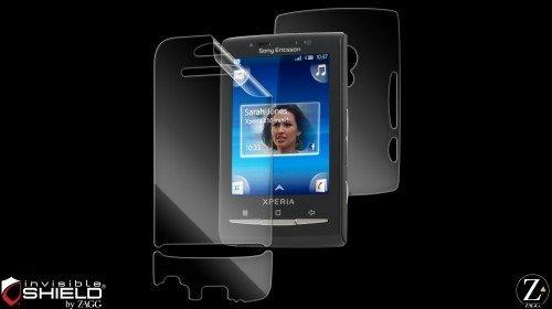 invisibleSHIELD - Protector de pantalla para Sony Ericsson Xperia X10 Mini