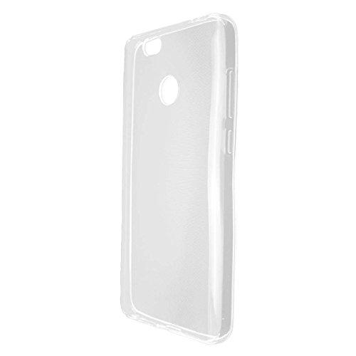caseroxx TPU-Hülle für Oukitel U11 Plus, Handy Hülle Tasche (TPU-Hülle in transparent)