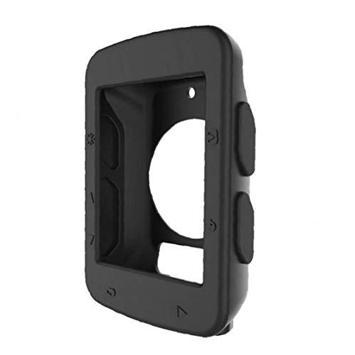 NaisiCore Caso código de la Tabla de protección de Bicicletas Reloj de Silicona Código Caja de la Tabla Accesorios Cubierta para Garmin Edge 520 1pc (Negro)