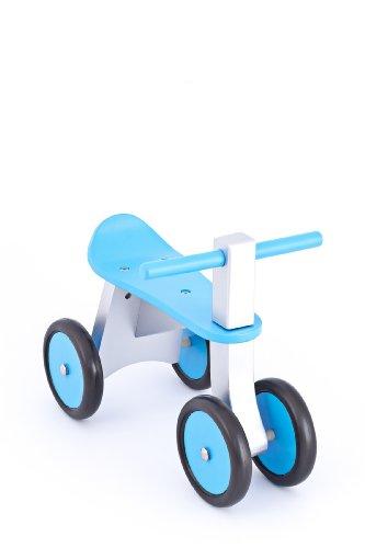 United Kids 13016-04 Rutscher/Rutschfahrzeug Ben aus Holz, blau