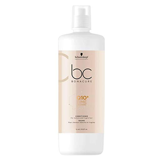 Schwarzkopf Professional BONACURE Q10 Time Restore Ageless Taming Conditioner, 1 l