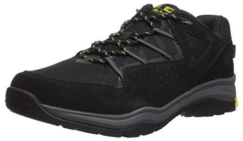 New Balance Men's 669v2 Cushioning Running Shoe, Black/Sulphur Yellow/Grey, 7 W US