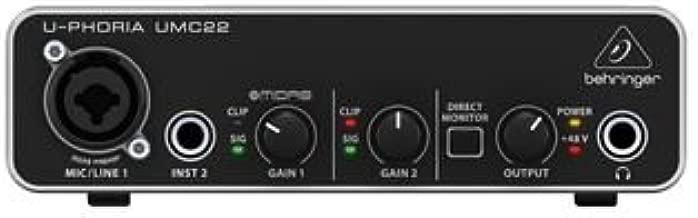 Mejor Behringer Interfaz De Audio de 2020 - Mejor valorados y revisados