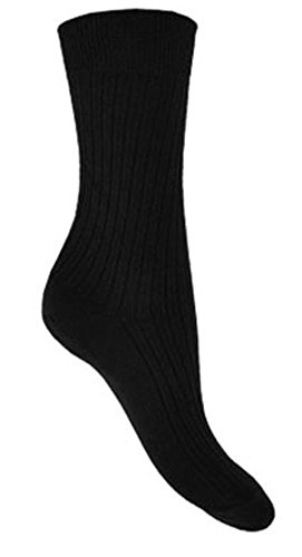 Hosiery-Direct-UK®Herren Socken Schwarz Blacks