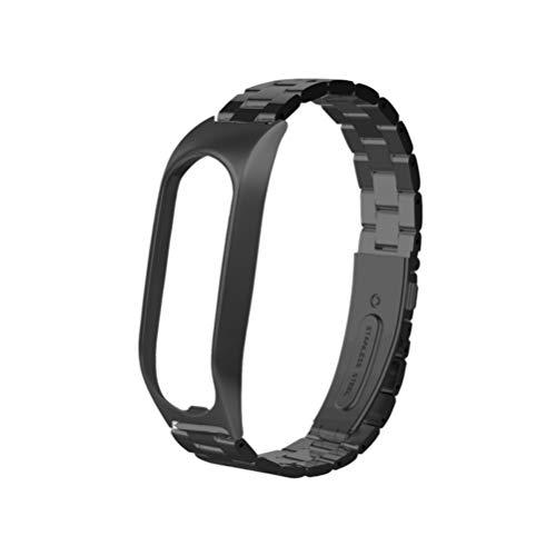 Hemobllo Compatible con la pulsera Tomtom Touch – Correa de reloj inteligente de acero inoxidable de cambio rápido compatible con Tomtom Touch