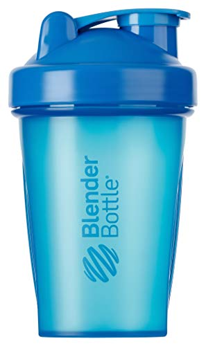 BlenderBottle Classic Shaker | Shaker Protéine | Bouteille d'eau |Blenderball | 590ml - Cyan