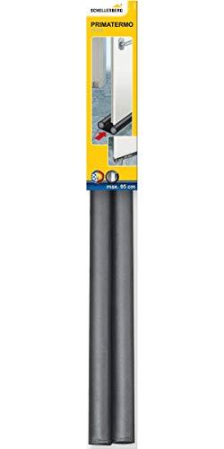 Schellenberg 66227 Zugluftstopper für Türen, max 95 cm breite, Spalte max 3,5 cm höhe, kürzbar
