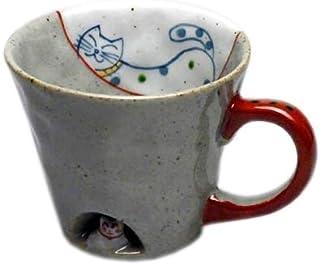 猫 マグカップ かくれんぼ猫 有田焼 マグ 可愛い ギフト プレゼント