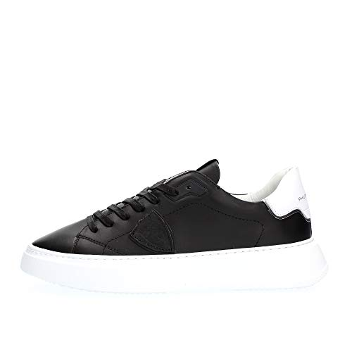 Philippe Model Sneaker Uomo cod.BTLU Black - White Size:43