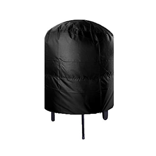 Cubierta de la parrilla Tubo de la parrilla redonda impermeable e impermeable a prueba de agua Camping a prueba de polvo Cubierta de la parrilla al aire libre 77x58cm / 80x66x100cm Cubierta de la parr