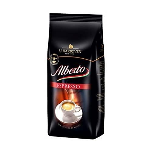 Darboven Alberto Espresso Bohnen, 1kg, 1er Pack (1 x 1 kg)