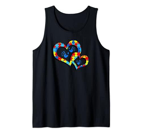 Autism Support SPED Autism Awareness Camiseta sin Mangas