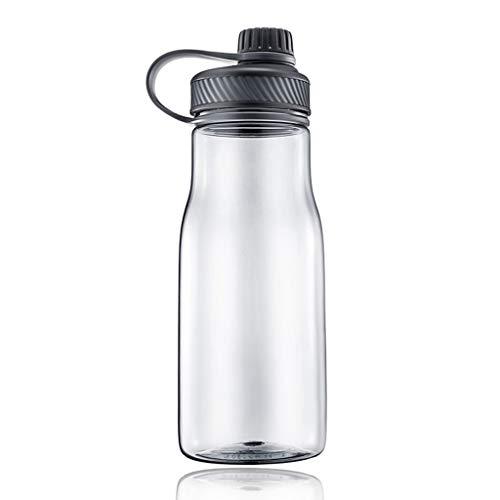 Botella deportiva Botella de agua Deportes 1100ML/1300 ml con tapón de rosca a prueba de fugas tapa Deportes Frasco libre de BPA Bebidas Botella,for la Ejecución de gimnasio al aire libre Montañismo