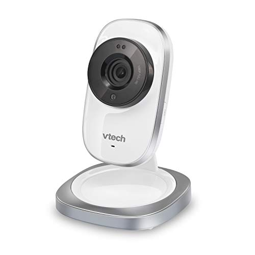 VTech VC9411 Wi-Fi IP Camera with 1080p HD, Free Live Streaming, Automatic Infrared Night Vision & Smart Security Alarm, Silver/White, Multicolor